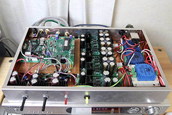 DAC8741-2+ジッタクリーナ