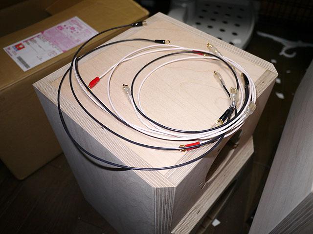 オヤイデのケーブルとコイズミ無線で買ったコネクタ