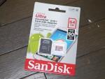 64GB Micro SDXCカード