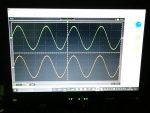 QUADの出力波形